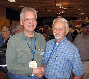 WA1LOU and W5LFL at 2009 Hamvention