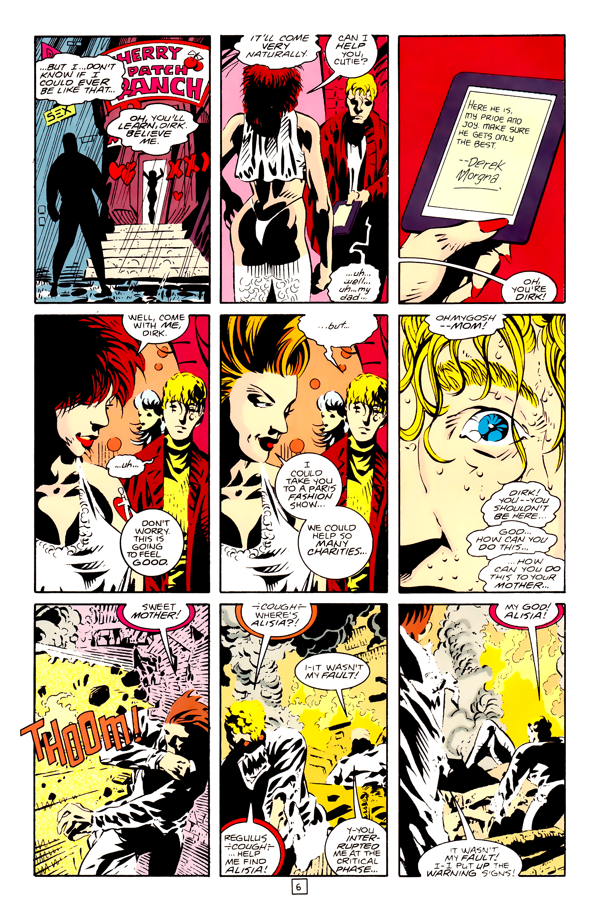 Legion of Super-Heroes (1989) 28 Page 6
