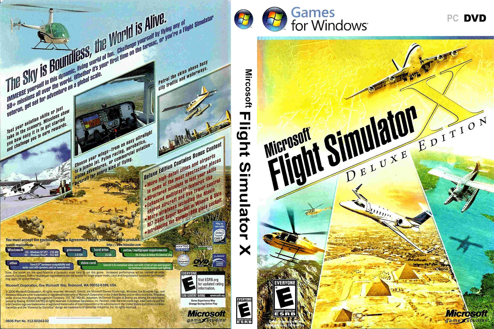 Flight simulator x: deluxe edition part 1 page 9 | simhq.