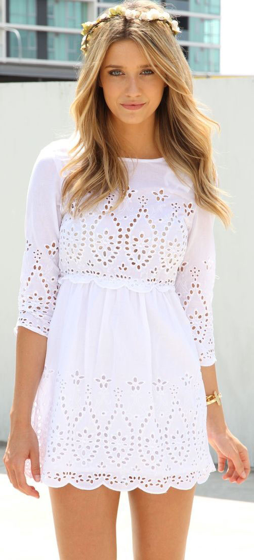 Casual Summer Dresses to Wear Now #SummerDresses