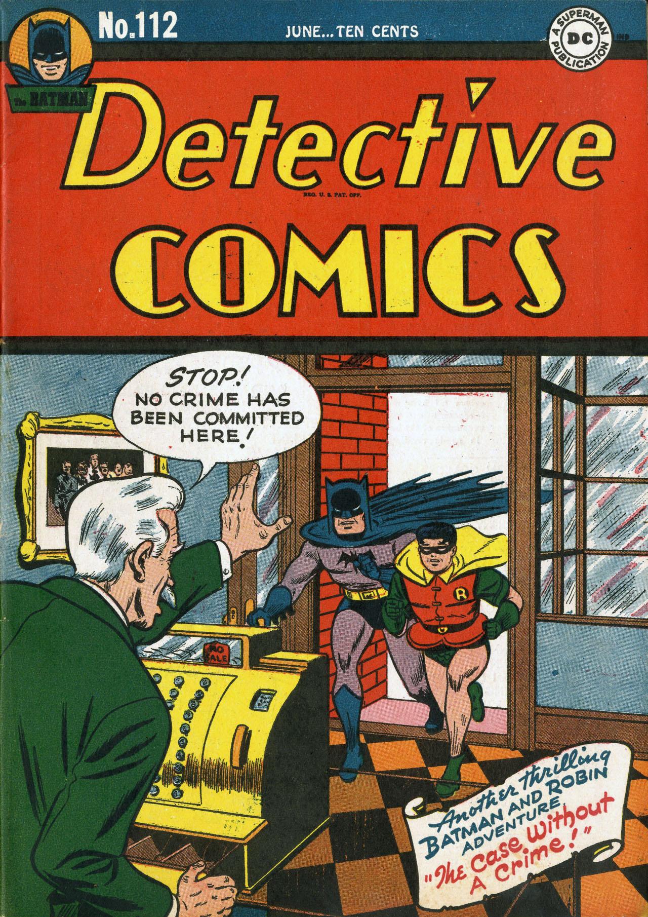 Detective Comics (1937) 112 Page 1