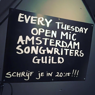 ASG Open Mic every Tuesday Cafe de Koe Marnixstraat 381