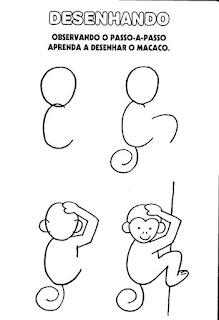 Atividade alfabetização desenhando