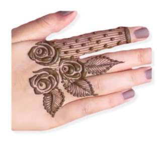 Rose Mehndi Design