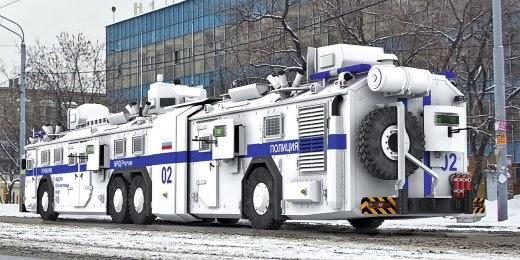 Ракета Путина - автобус быстрого реагирования БРОНЕБУС БАВ
