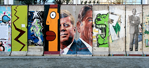 berlin wall los angeles