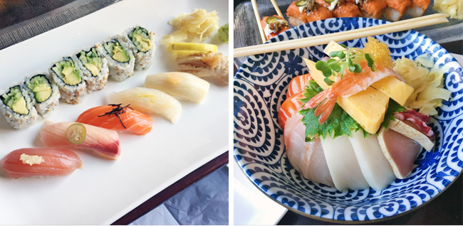 Sushi, Chirashi, Japanese Food, Momoya Review, Momoya New York, Momoya Chelsea