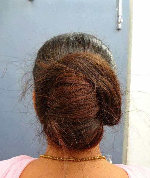 Hair Care And Beauty Tips: Indian Long Hair Buns