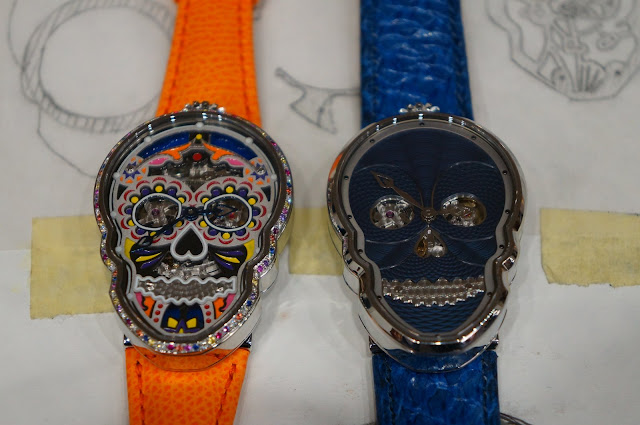 "The Petit Skull (Celebration) ""Eternity"" and Petit Skull Bleu"
