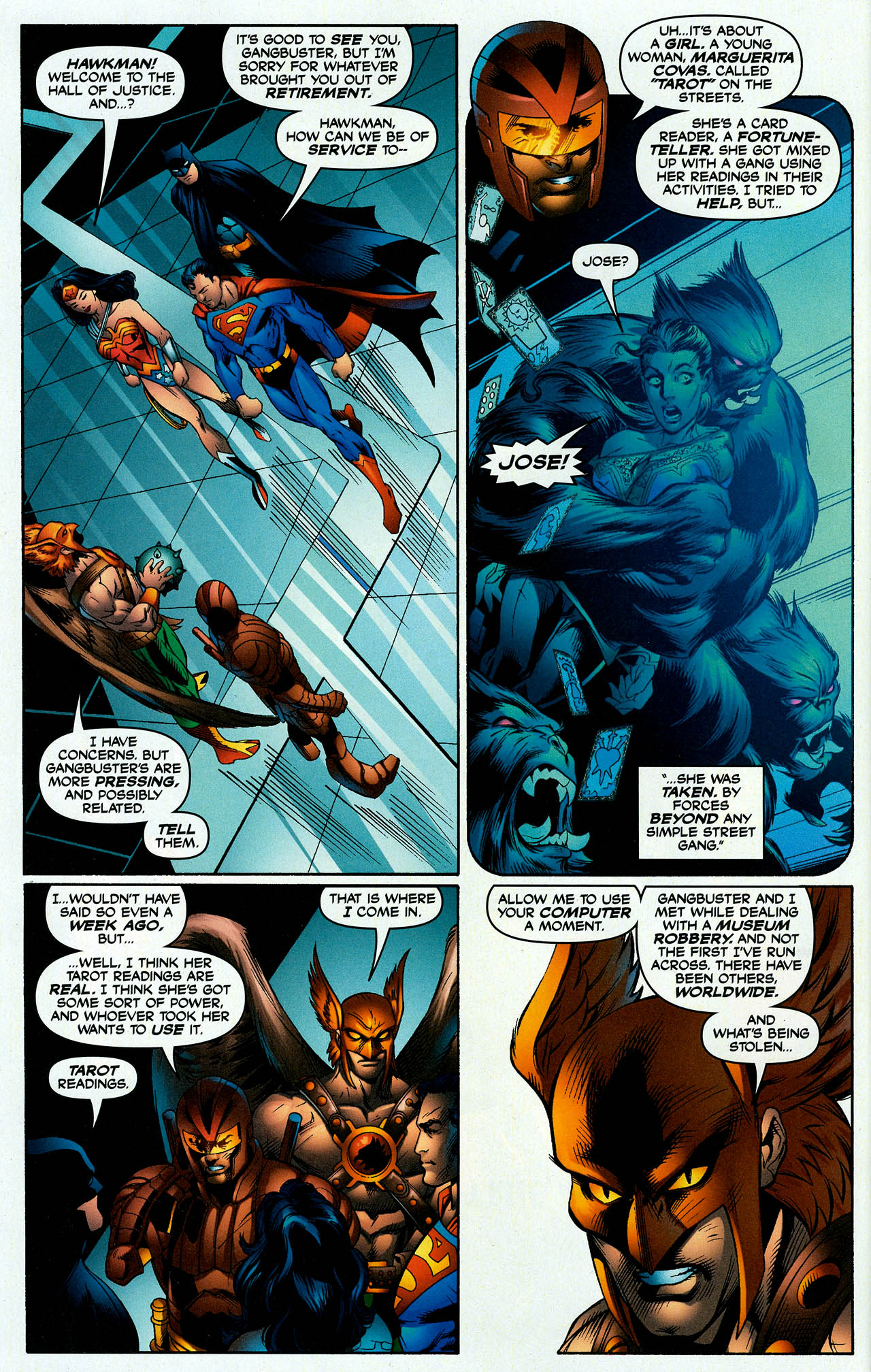 Read online Trinity (2008) comic -  Issue #7 - 9