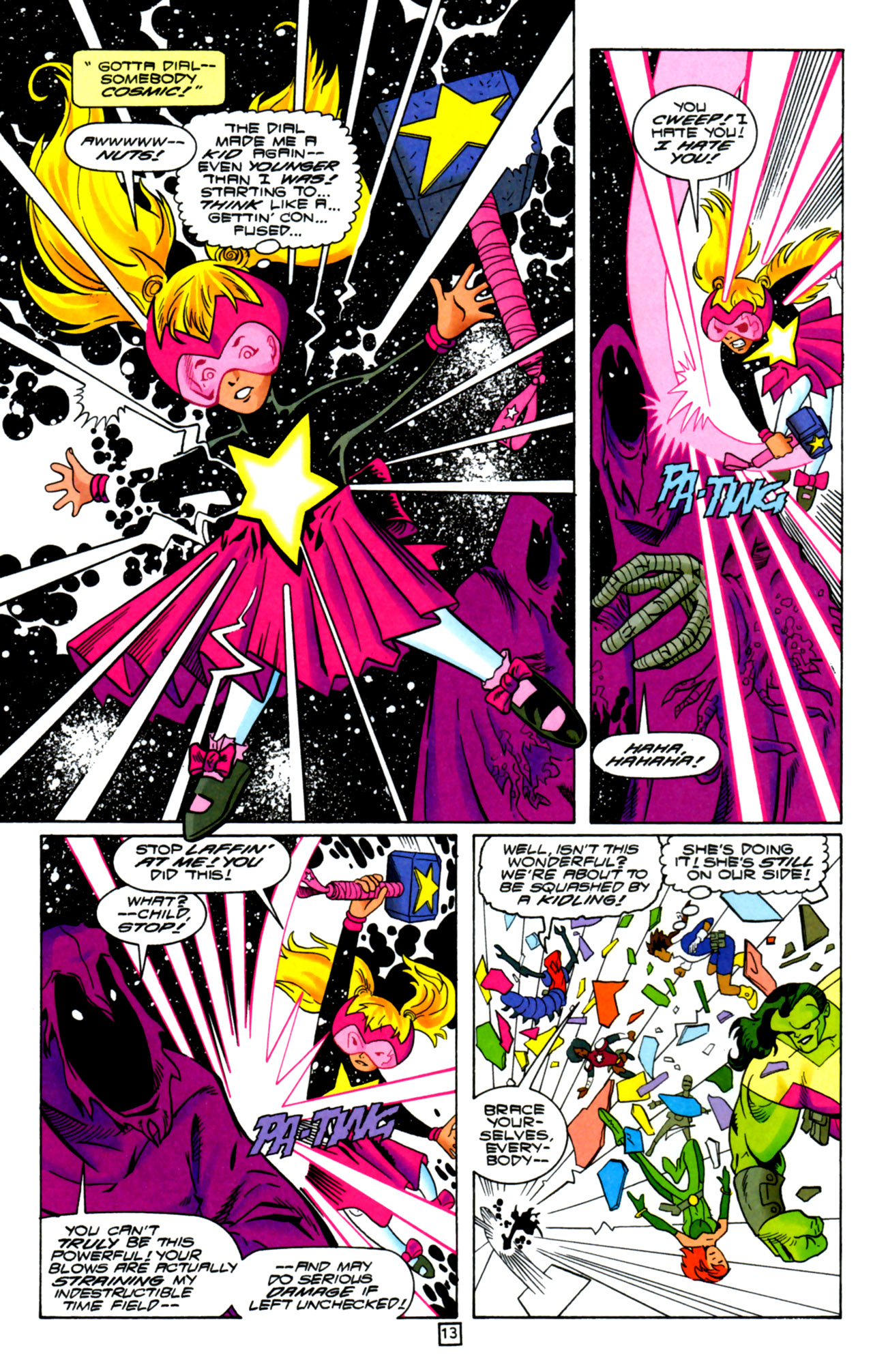 Legion of Super-Heroes (1989) 105 Page 12
