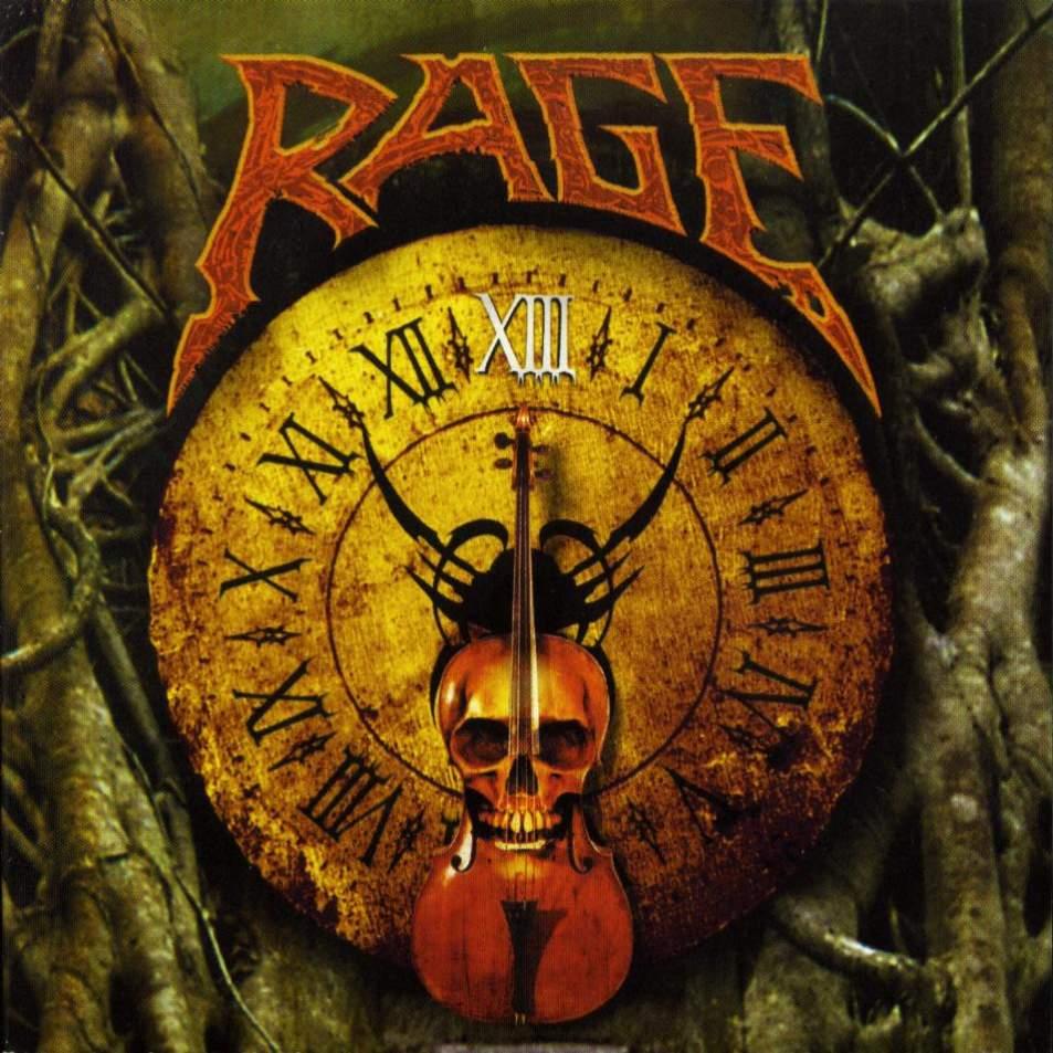 Portada del disco XIII del grupo alemán Rage