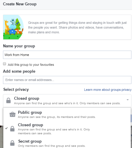Add All Friends to Facebook Group