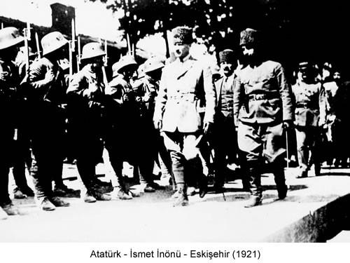 Atatürk İnönü Eskişehir 1921 Fotoğraf