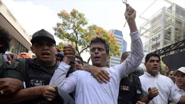 El opositor López convoca a protesta multitudinaria en Venezuela