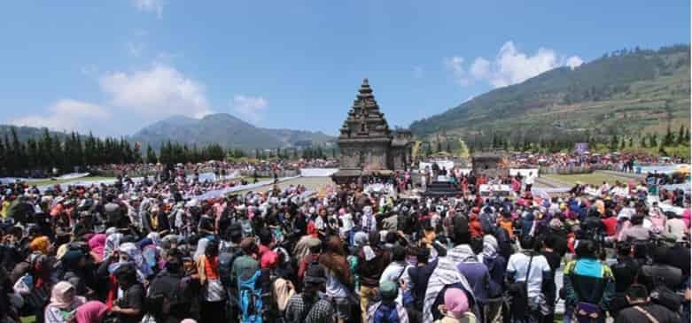 Dieng Culture Festival 2017, Central Java, August 4–6