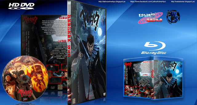 Berserk (2016) | Cover DVD - BD | Mp4 1080p | MEGA | SIN CENSURA |
