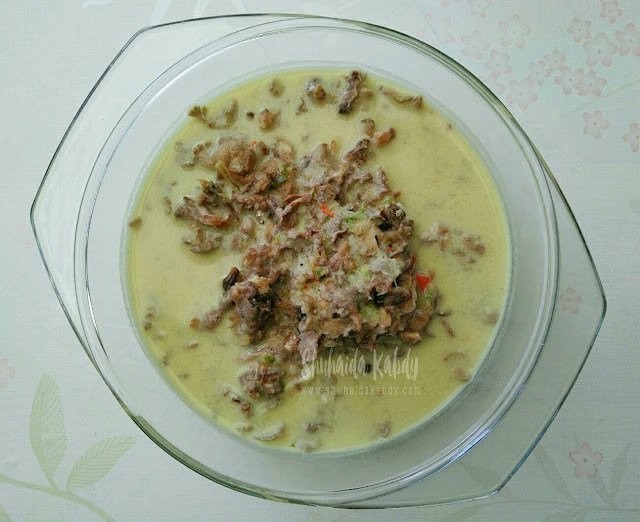 resepi cendawan kukur masak lemak