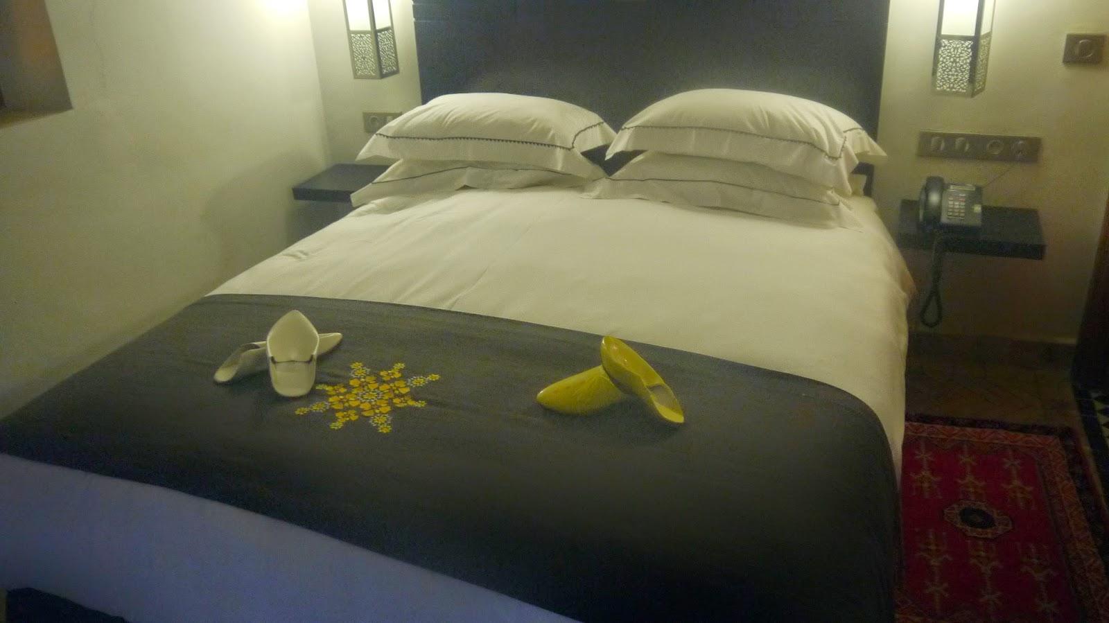 Bed at Palais Amani