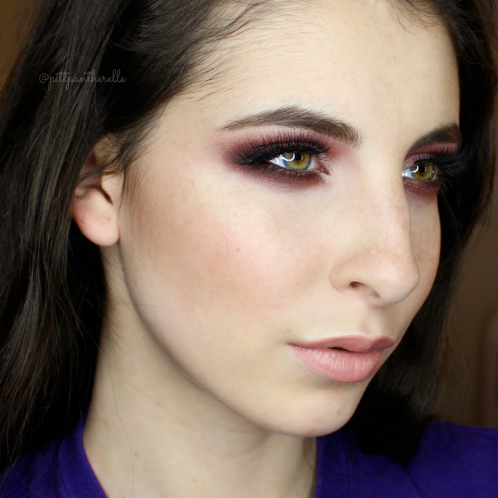 Pittpanthermua Tutorial Berry Valentines Day Look