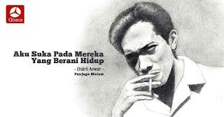Puisi Chairil Anwar : Derai-derai Cemara