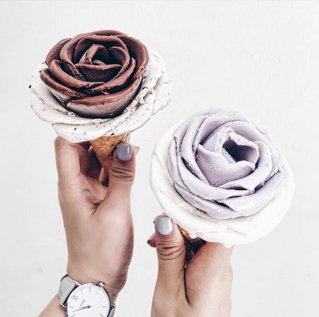 bentuk es krim paling cantik paling unik dan paling menarik