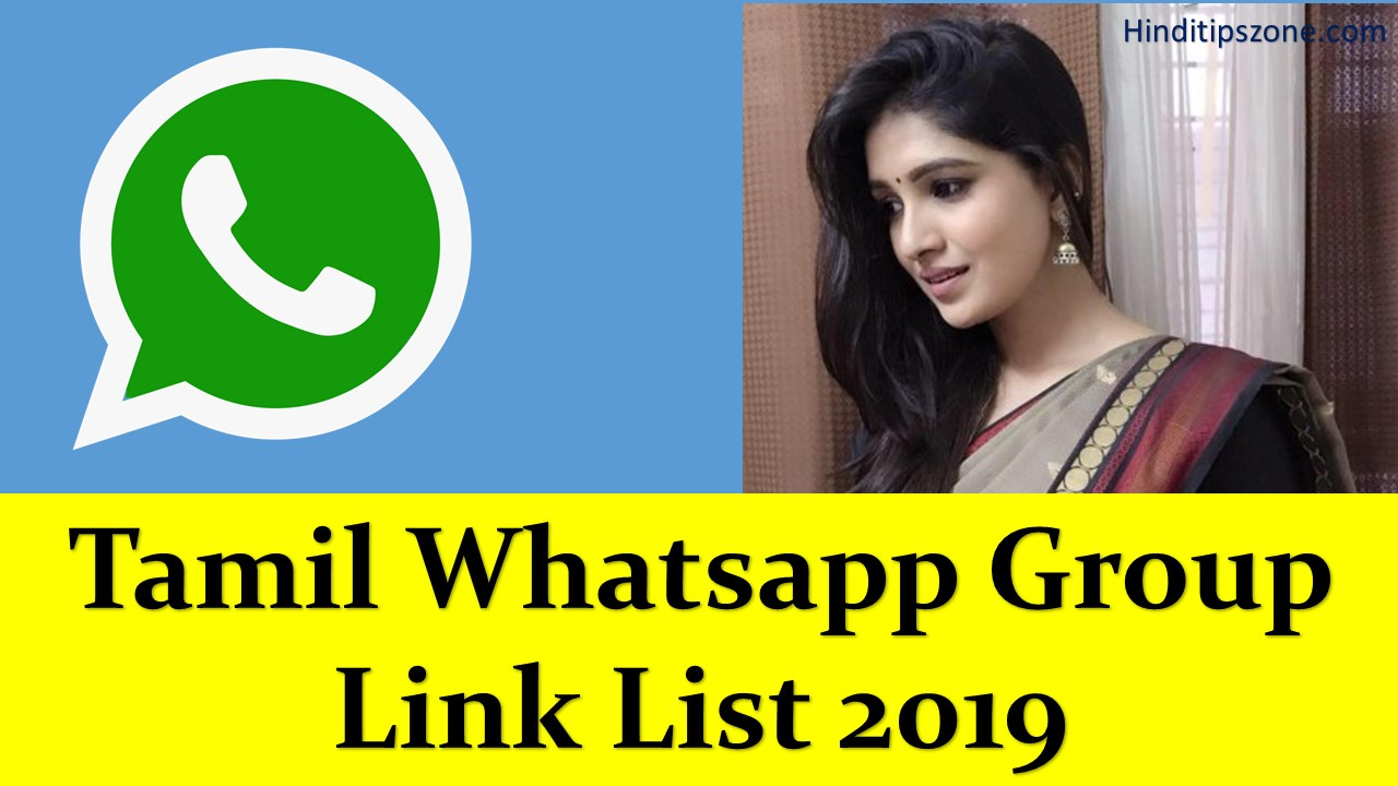 Tamil Whatsapp Group Link List 2019 [[New Link Added