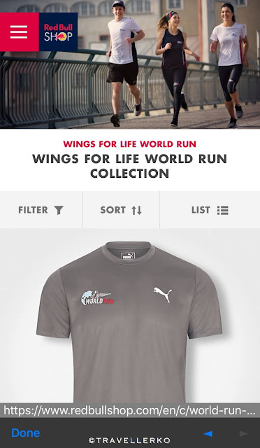 【介紹】Wings for Life World Run App 平常練習使用的介面
