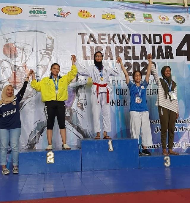 Lahirnya Generasi Penerus Taekwondo Liga Pelajar 4 Tahun 2020