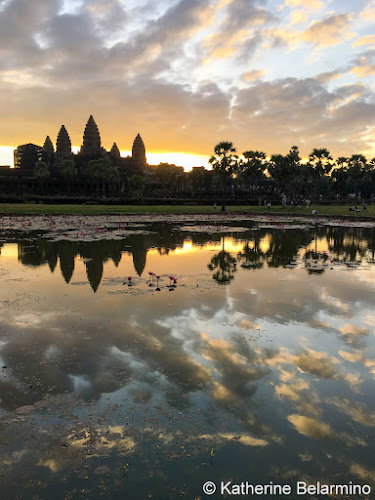 6:41 a.m. iPhone photo Angkor Wat Sunrise Tips Siem Reap Cambodia
