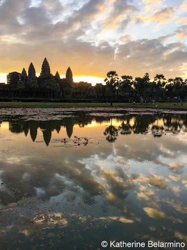 6:41 a.m. iPhone photo Angkor Wat Sunrise Tips Siem Reap Cambodia
