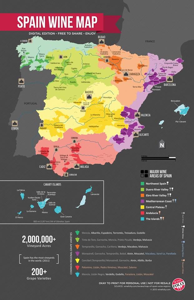 Mapa-DO-España-VINO On