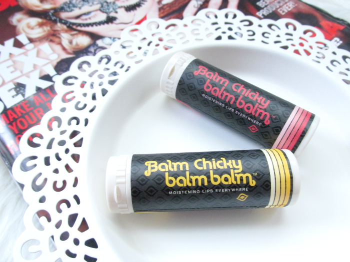 Review: Balm Chicky Balm Balm Lipbalm Wild Mountain Honey and Clementine & Sweet Baby Ginger