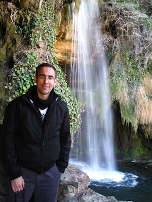 Waterfall in Sant Miquel del Fai
