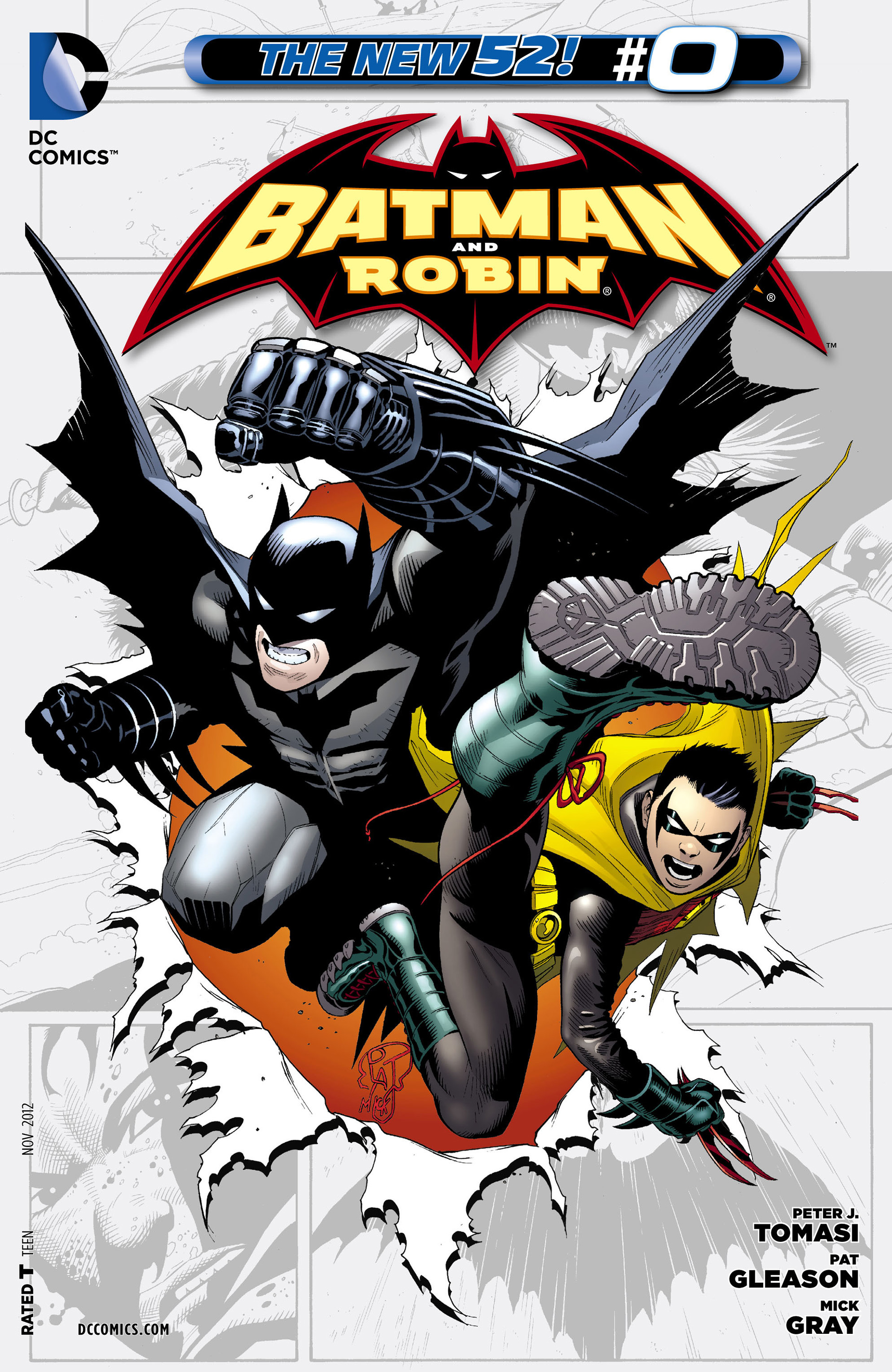 Read online Batman and Robin (2011) comic -  Issue #0 - 1