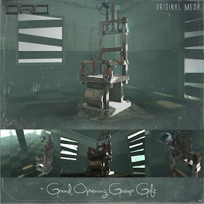 Electric Chair Store Remodeling Grand Opening Group Gift by DRD