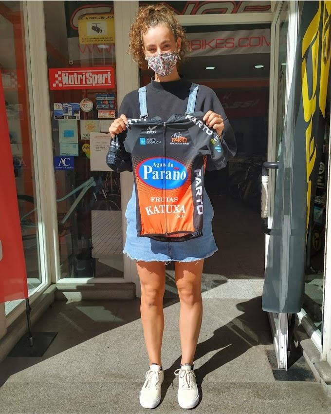 Tres ciclistas do Farto - Aguas do Paraño na selección galega