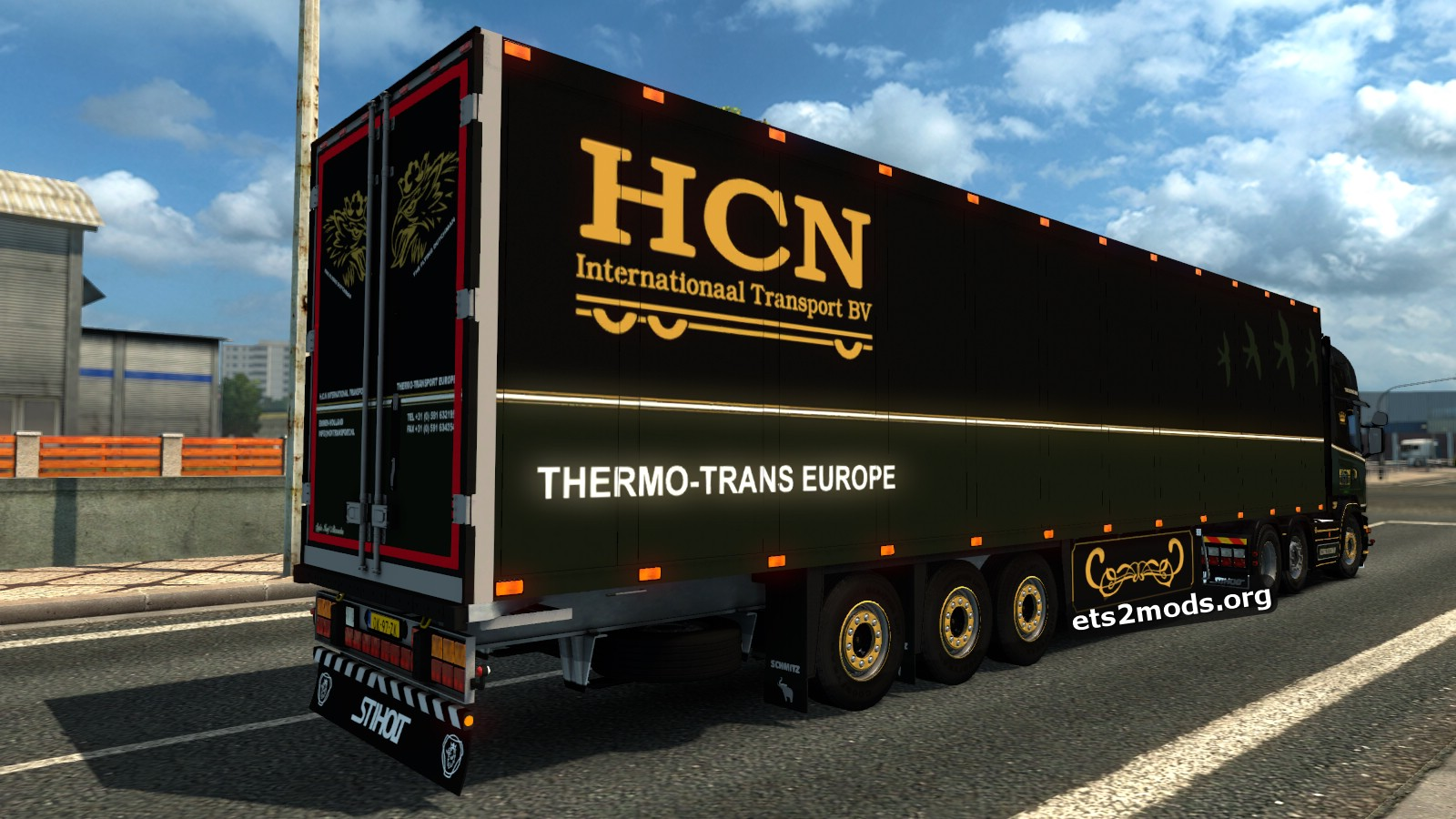 Combo Pack - HCN Skin for Scania R500 with Schmitz Trailer
