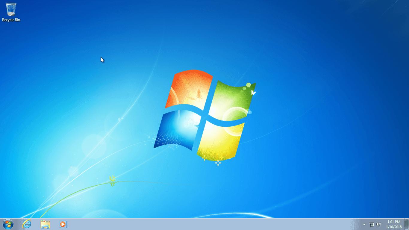 Cập nhật tháng 1, 2018 Ghost Windows 7 Ultimate đa cấu hình no soft no driver