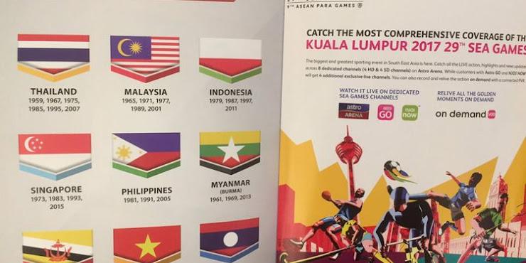 Panitia SEA Games Minta Maaf Soal Bendera Merah Putih Terbalik