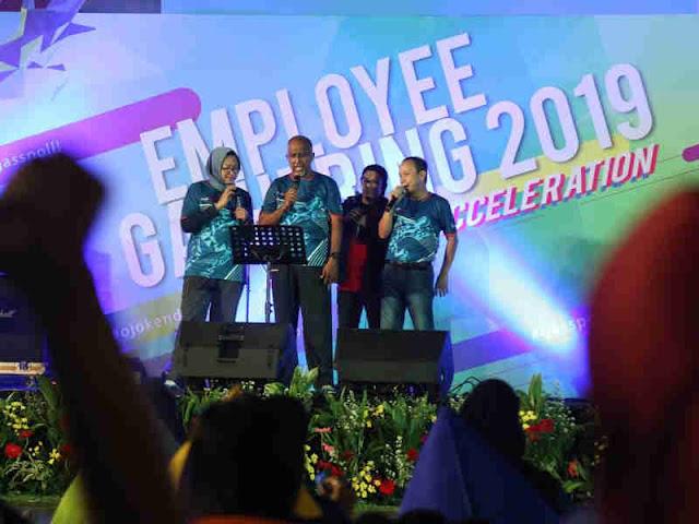 Pacu Semangat Kinerja 2019, Pertamina Gelar Employee Gathering