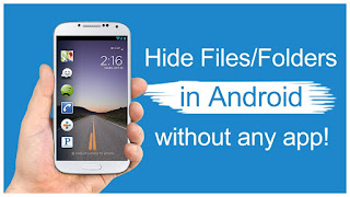 How to hide files on your phone using the nomedia file