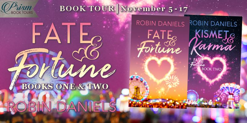 It's the Grand Finale for FATE & FORTUNE and KISMET & KARMA by Robin Daniels!