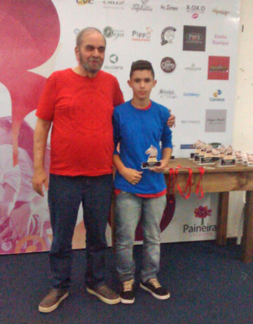 Equipe de registrenses é destaque no III Paineiras Open de Xadrez Rápido