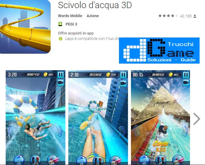 Trucchi Scivolo d'acqua 3D (Water slide) Mod Apk Android v1.8