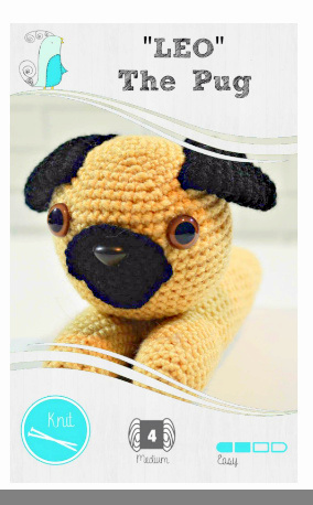 móhu — I made a free crochet pattern for these cute... | 458x284