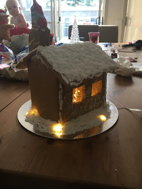 Jesse's Gingerbread House