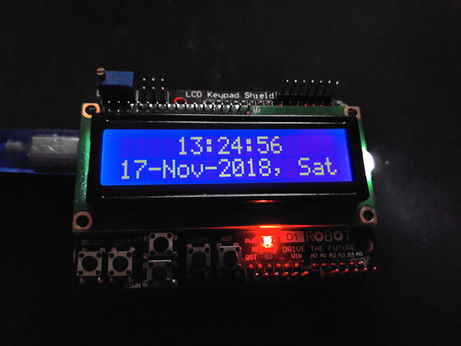 Counting time with Arduino (without RTC) · One Transistor
