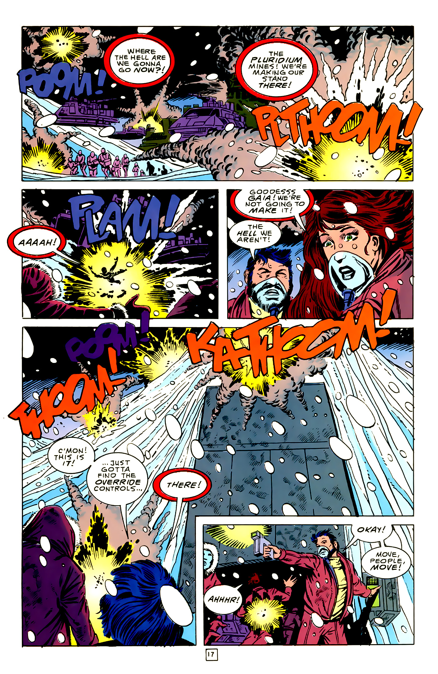 Legion of Super-Heroes (1989) 16 Page 17