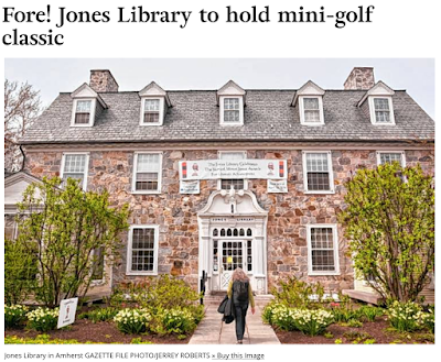 https://www.gazettenet.com/Jones-Library-in-Amherst-to-hold-miniature-golf-fundraiser-22669367